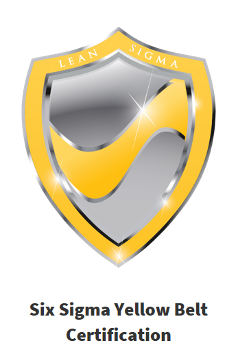 Six Sigma Yellow Belt accredited, online, self-paced course