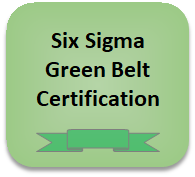 Six Sigma Green Belt online Certification