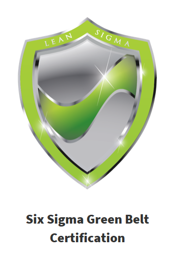 Six Sigma Green Belt accredited, online, self-paced course