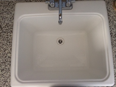 Laundry Tub without an overflow drain